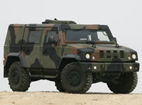 Iveco's LMVs Join Russian Military Parade