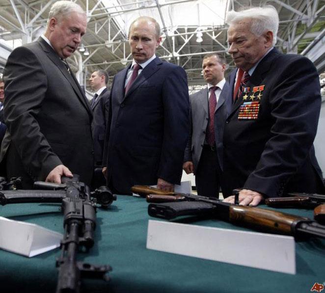 Kalashnikov Calls on Putin to Save His Legendary Factory