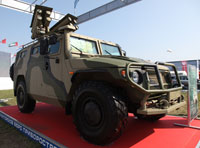 Russia Showcases New Products at Eurosatory 2012