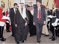 Saudi Arabia, UK to Boost Defense Ties