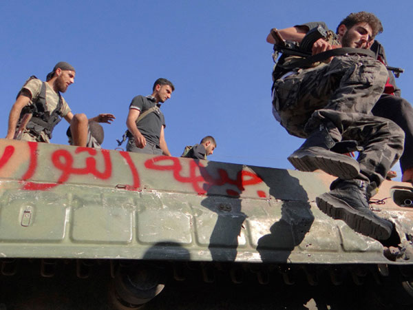 Syrian Opposition Groups Elect Head of New Military Command