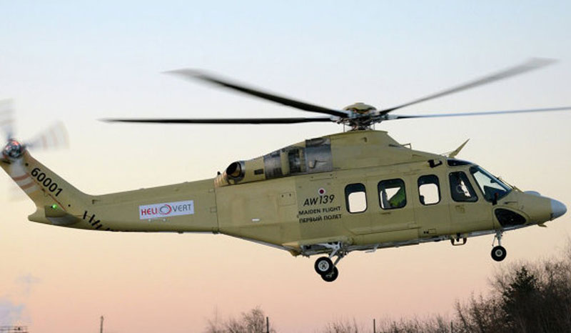 Russia to Buy 7 AW139 Helicopters; Receives 5 Su-34 Jets