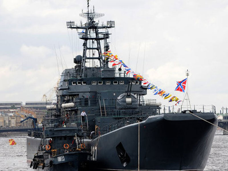 Russian Ships to Start Exercises off the Coast of Syria