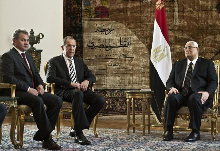 Egypt, Russia to Boost Military Ties