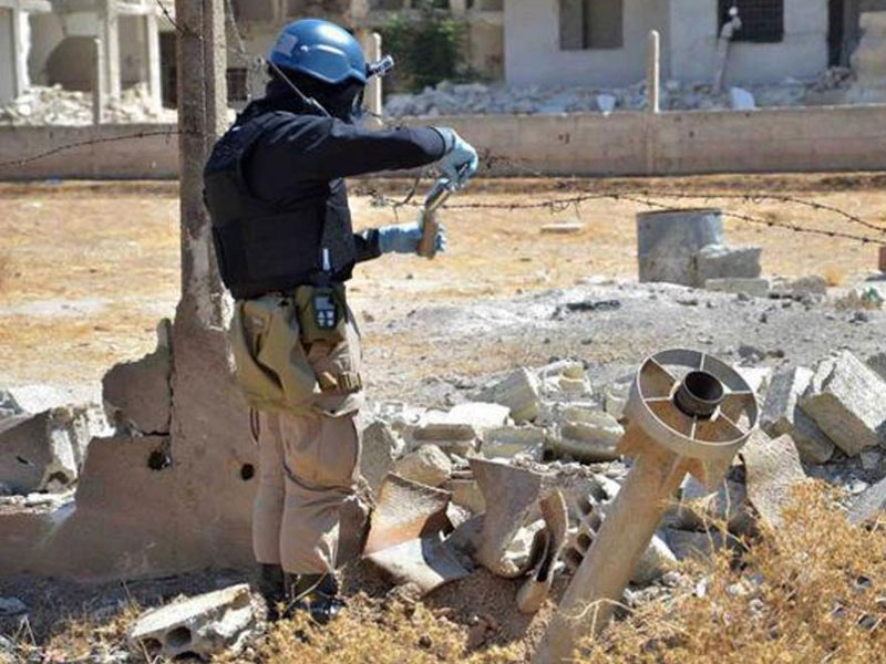 Experts Start Dismantling Syria's Chemical Weapons