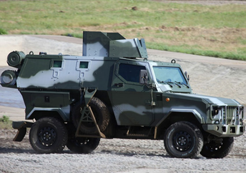 Russian Armored Trucks to Transport Syrian Chemical Arms