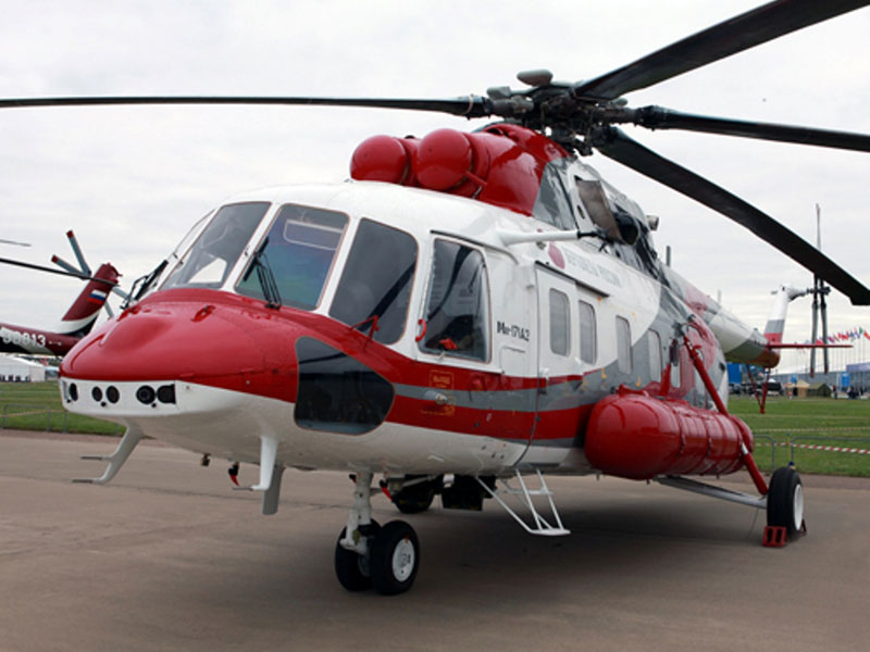 Russian Helicopters at Heli-Expo 2014