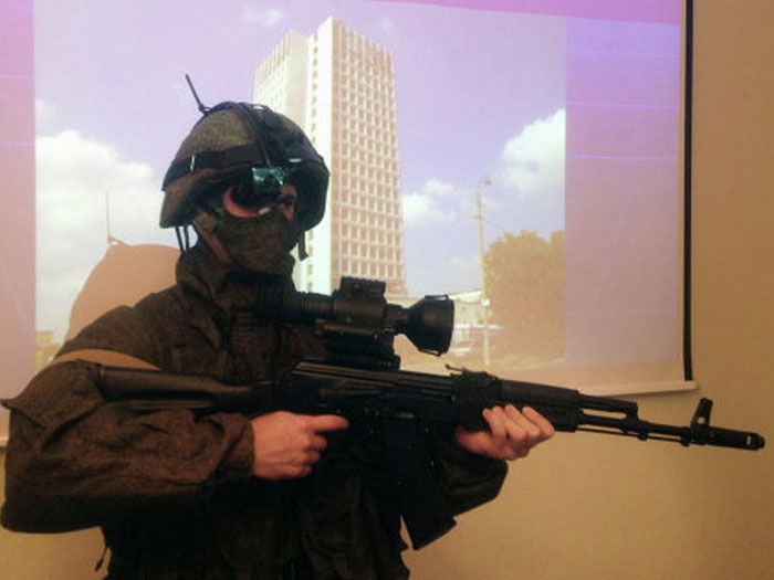 Russian Special Forces to Test New Thermal Vision Scope