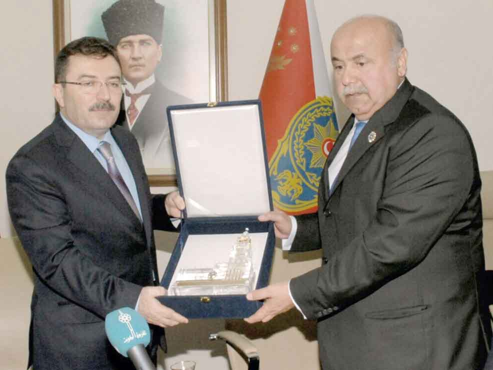 Kuwaiti Official Examines Turkey's Security Expertise