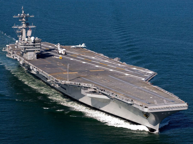 U.S. to Deploy Aircraft Carrier to the Gulf for Iraq Standby