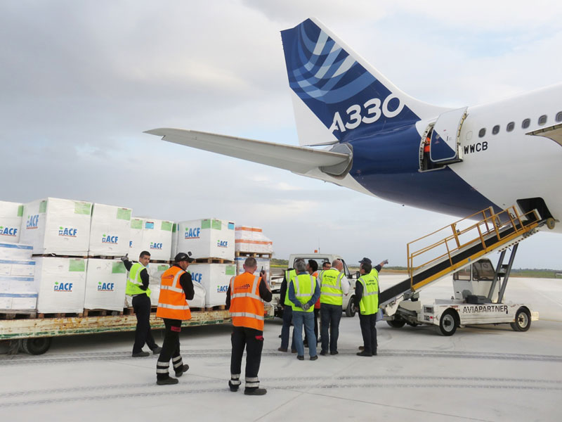 Airbus Foundation, ACF Provide Relief Goods for Yemen