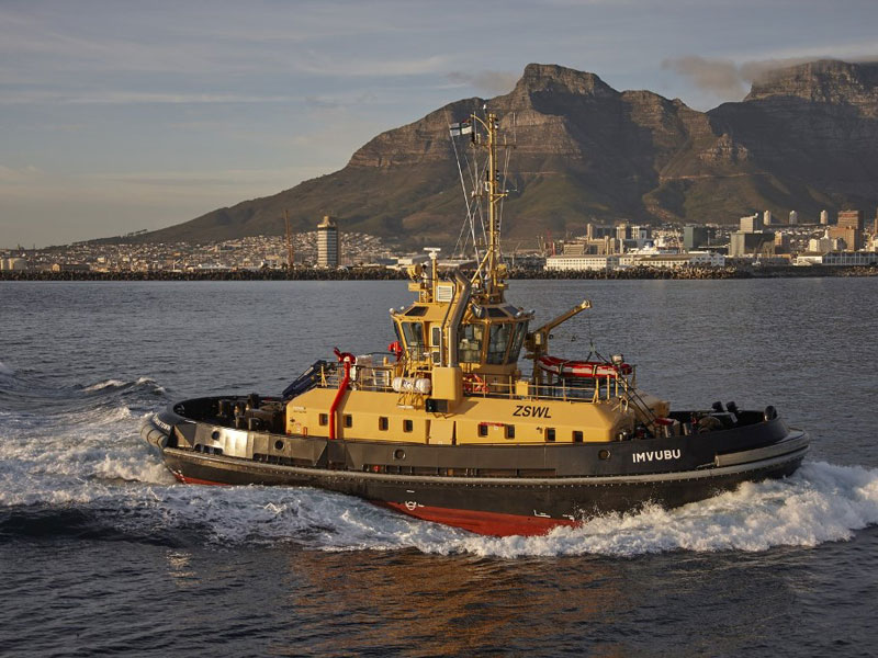 Damen Building South African Navy's 2nd ATD 2909 Tug