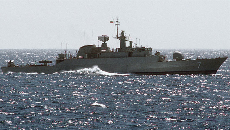Iran Deploys Two Warships to Gulf of Aden