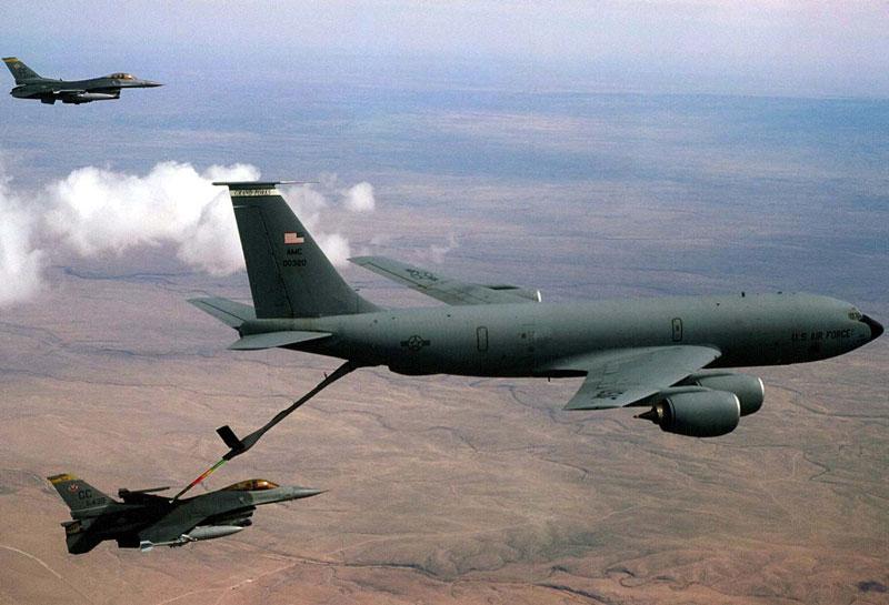 "U.S. Starts Aerial Refueling for ""Decisive Storm"" Warplanes"