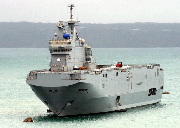 Russia to Buy Mistral Ship