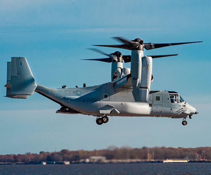 Bell Boeing Delivers First Modified Osprey to US Marine Corps