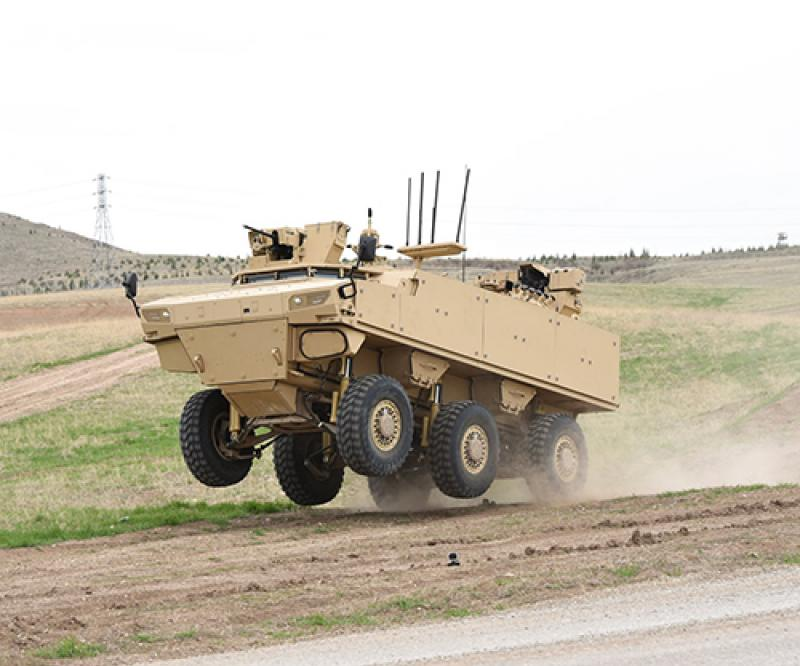 FNSS Continues Qualification Tests of PARS IV 6x6 Special Operations Vehicle