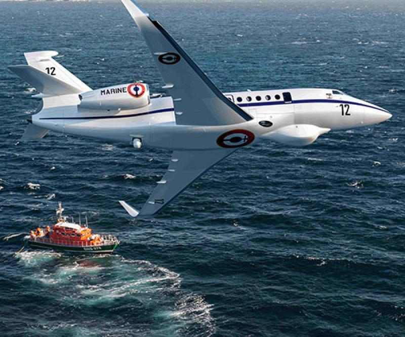 Falcon 2000 Albatros for the French Navy