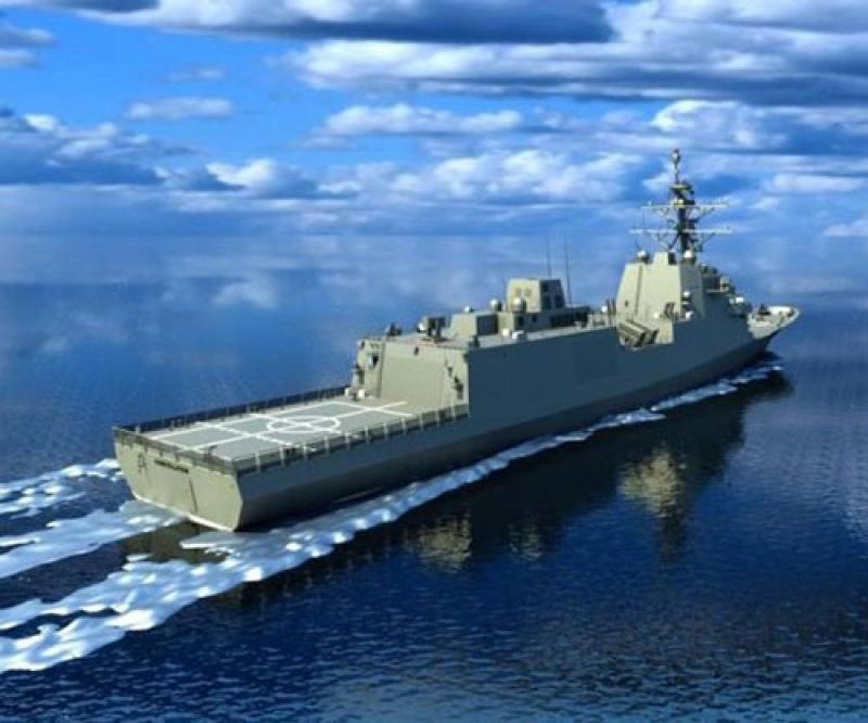 Fincantieri to Build Second Constellation-Class Frigate for U.S. Navy