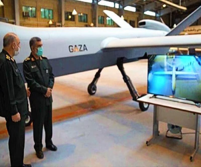 Iran Unveils Super Heavy Drone Dubbed 'Gaza'