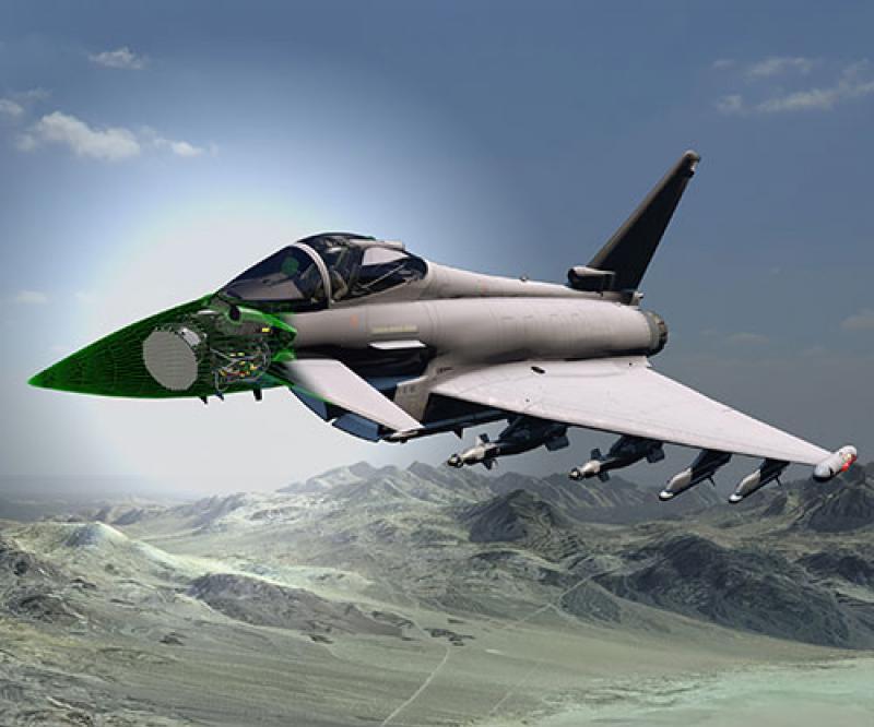 Italy Joins UK Development of Next-Generation Eurofighter Typhoon Radar