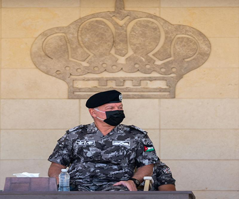 Jordanian King Calls for Supporting Lebanese Army