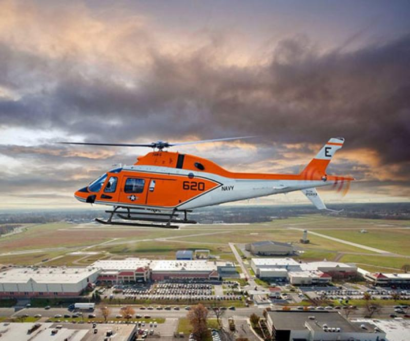 Leonardo Delivers 1st TH-73A Training Helicopter to US Navy
