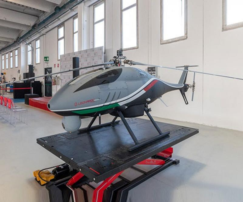 Leonardo Extends its Training Services to Rotorcraft Unmanned Aerial Systems