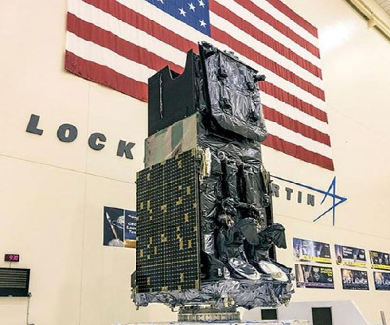 Lockheed Martin's First Modernized SBIRS Missile Warning Satellite Now Under U.S. Space Force Control