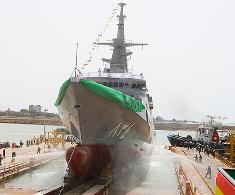 Navantia Launches Fourth Corvette for Royal Saudi Naval Forces