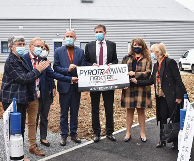Nexter Inaugurates Pyrotechnic Training Center in France