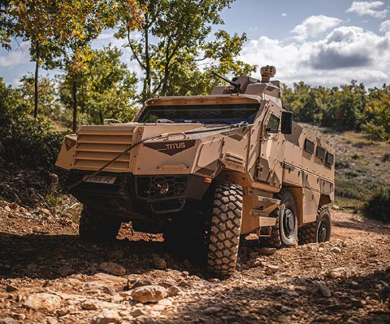 Nexter Showcases its Special Forces Products at SOFINS 2021