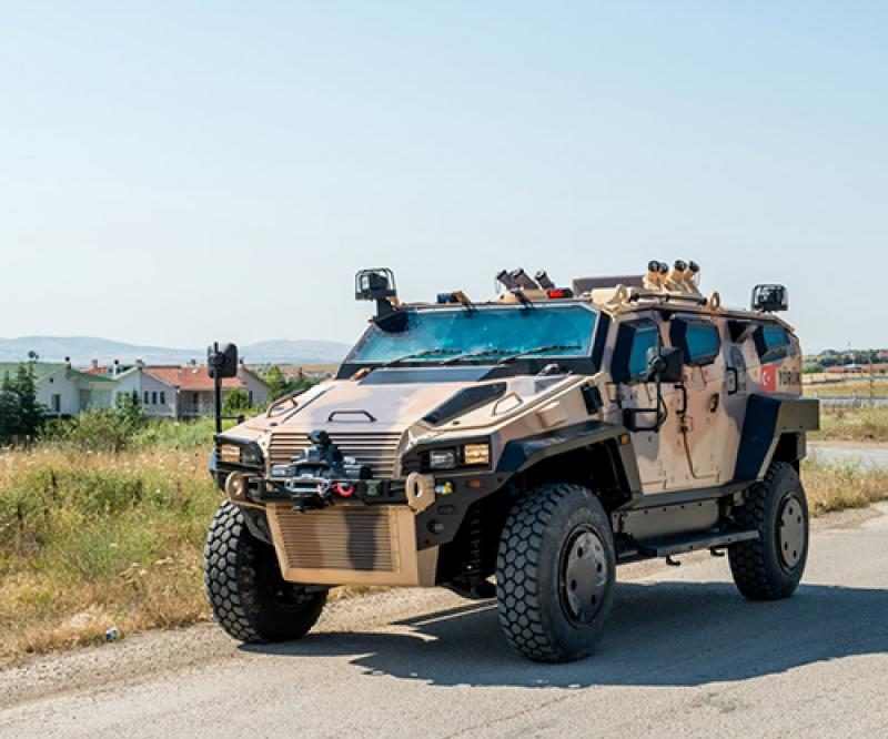 Nurol Makina Unveils its Yörük 4x4 Armored Pickup Vehicle at IDEF'21