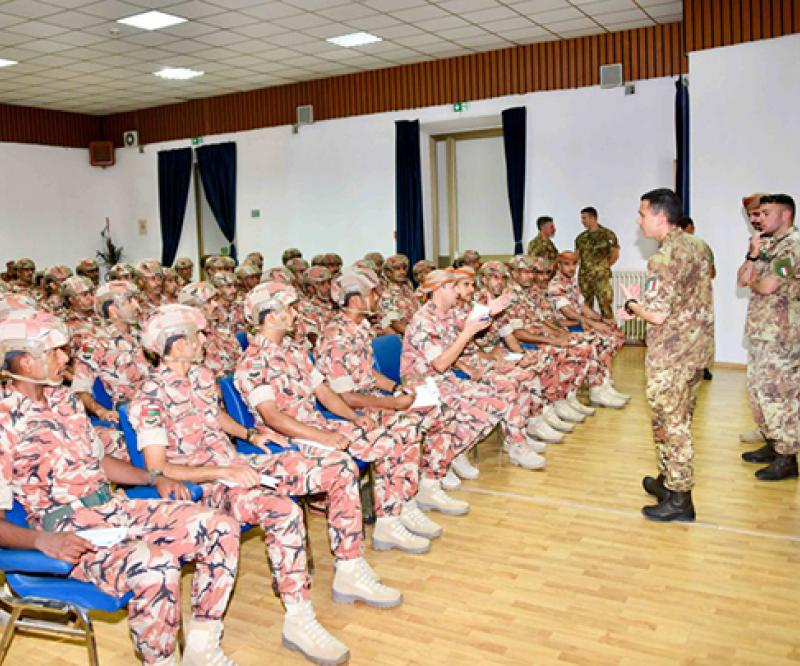 Oman, Italy Start Joint Military Exercise