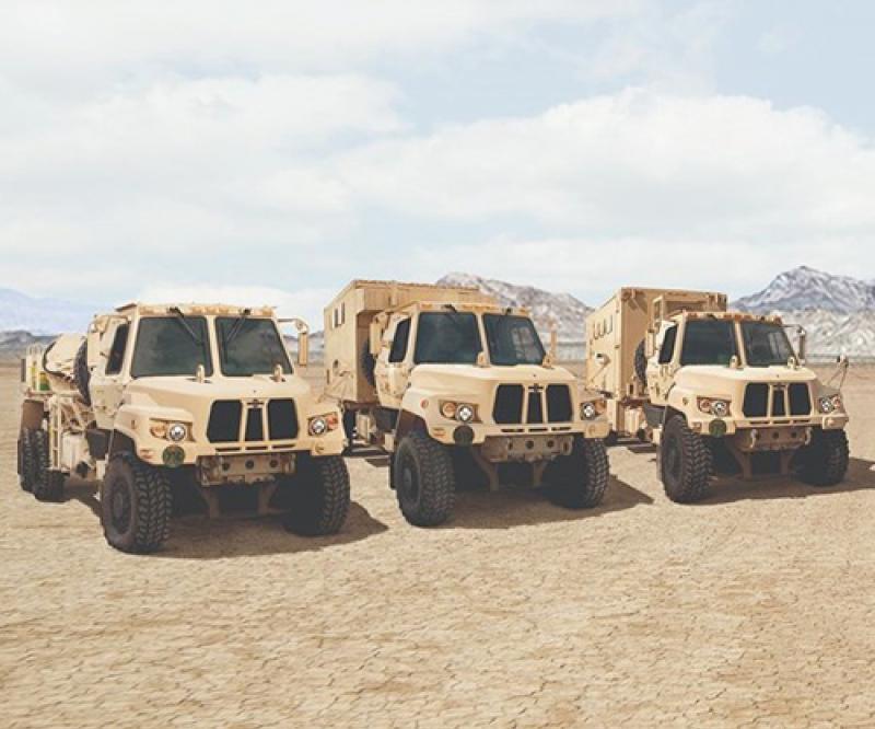 Oshkosh Defense Receives Order for 541 FMTV A2 Variant