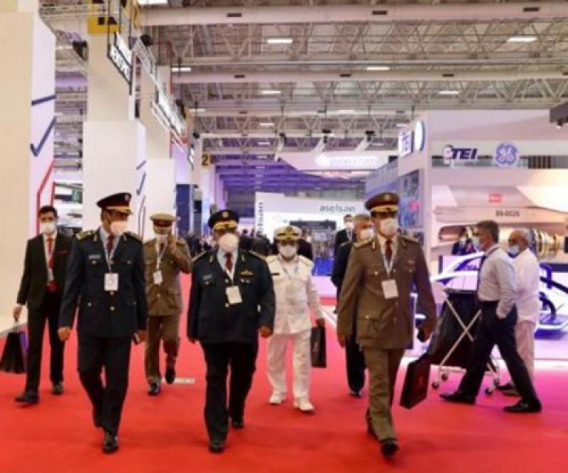 Qatar's Chief-of-Staff Tours IDEF'21; Meets Turkish Military Officials