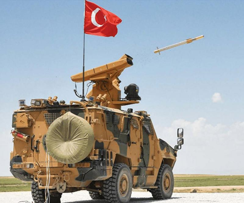 Roketsan's Levent Air Defense System Debuts at IDEF'21