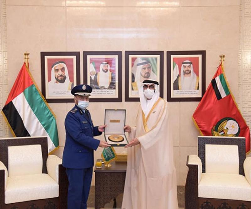 Saudi Chief of General Staff Meets Top UAE Defense Officials