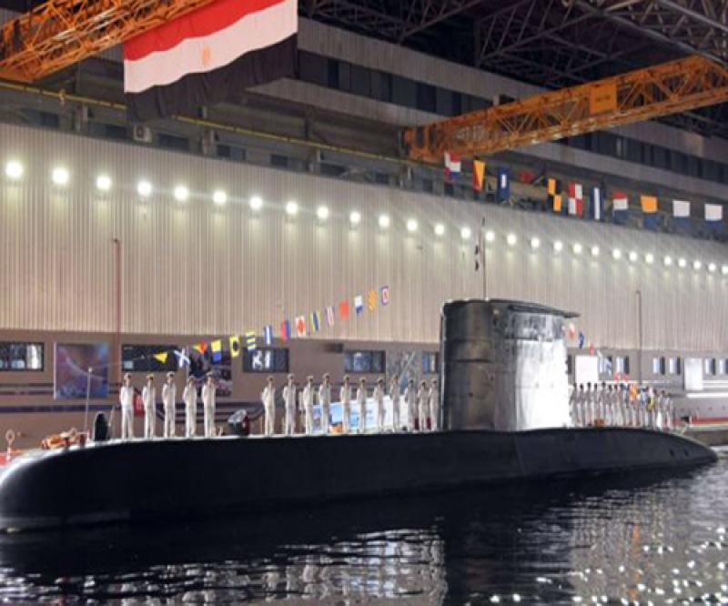 ThyssenKrupp Delivers 4th S-44 Submarine to Egypt