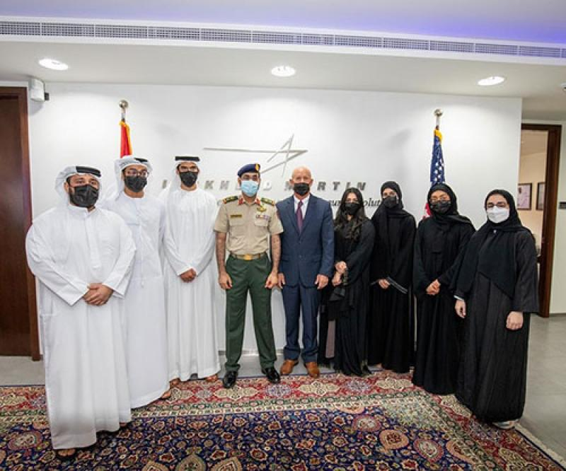 UAE Defense Delegation Visits Lockheed Martin's Center for Innovation & Security Solutions