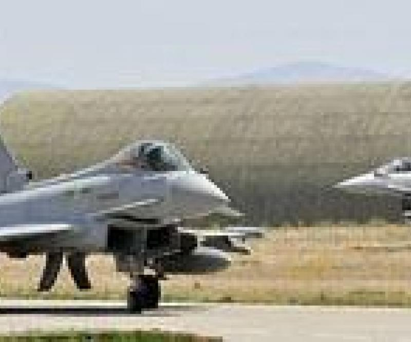 RAF Typhoons exercise in Turkey