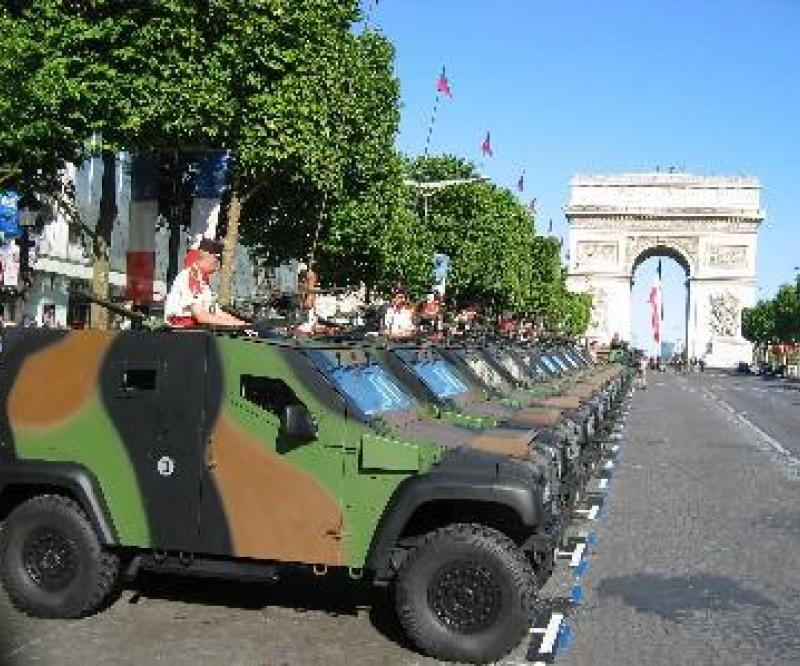 The French MOD orders 200 light armoured vehicles