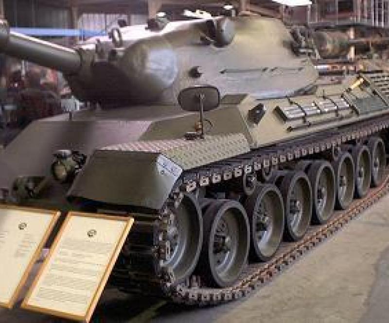Brazil Receives First Leopard 1A5 MBT