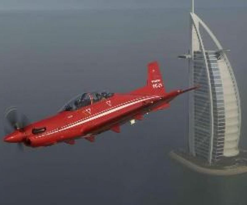 UAE Selects Pilatus PC-21 Training Aircraft