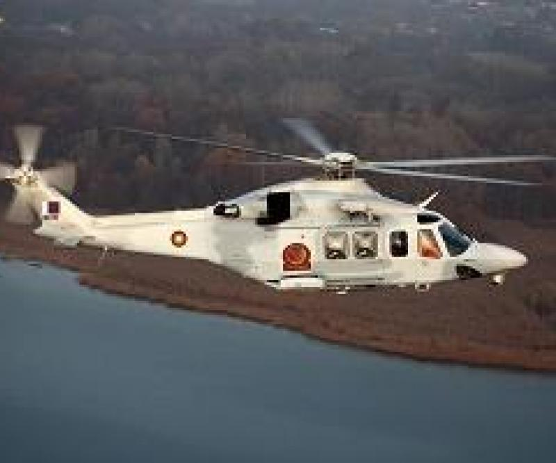 The Qatar Armed Forces Take Delivery Of Their 1st AW139