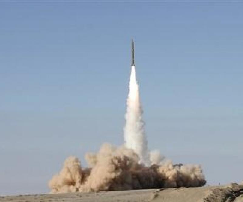 Iran test-fires long-range Missile