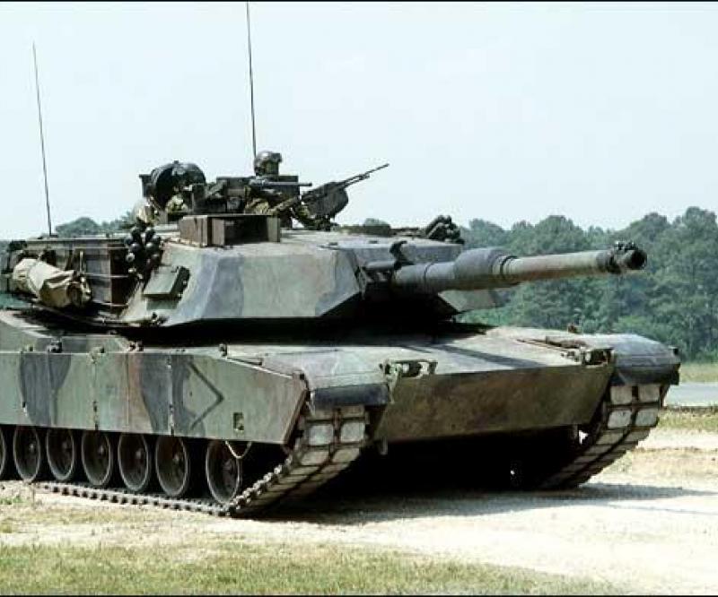 GD: $14m Iraqi Abrams Tank Work