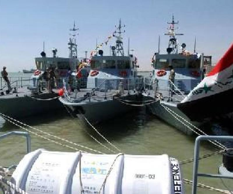 Iraqi Navy: 2 Patrol Vessels