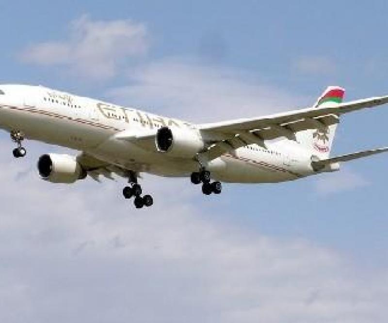 Etihad: Delivery of 1st Airbus A330-300