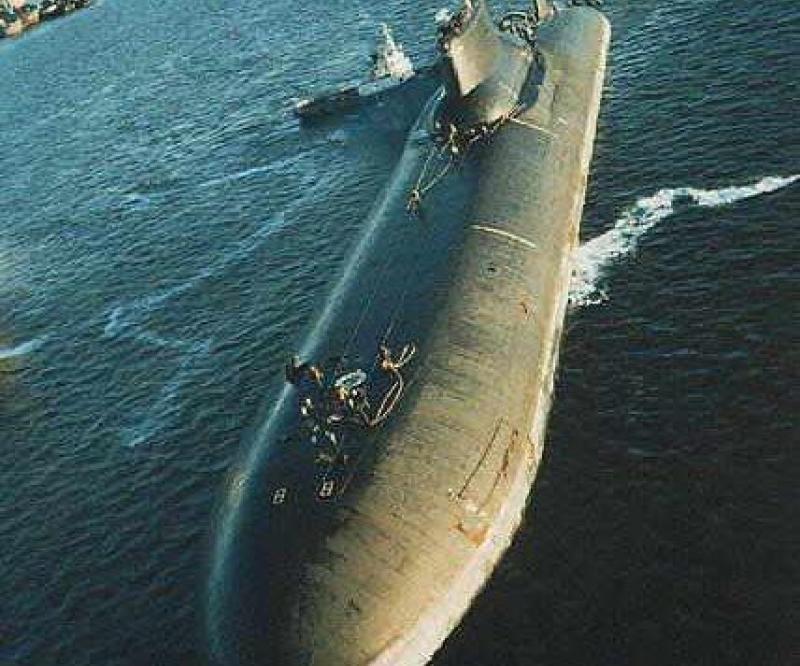 India Leasing Russian Nuke Sub